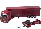 Radiografische MB boxtrailer (rood)