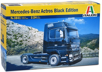 OP=OP: Italeri Mercedes Black Edition