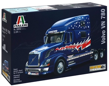 Italeri Volvo VN 780 (decals 2 versions)