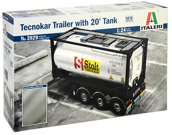 Italeri Tecnokar trailer with 20' Tank